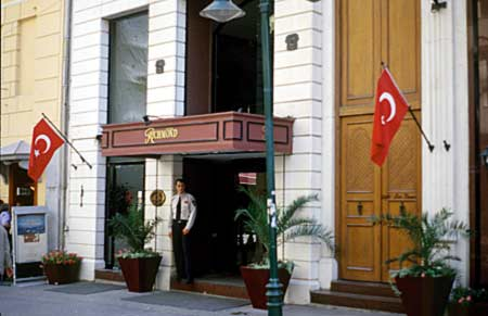 Hotel Richmond in Istanbul in Beyoglu